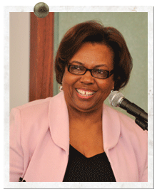 Ernestine Baker, former executive director of UMBC's landmark Meyerhoff Program.