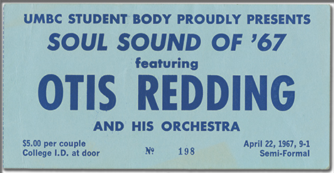 Otis Redding Ticket