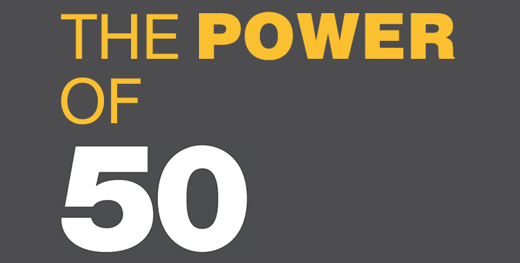 The Power of 50