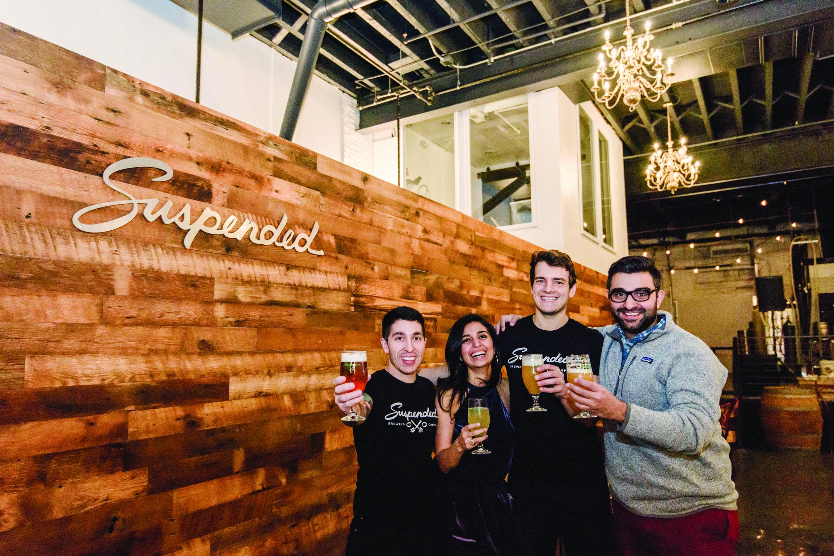 UMBC alumni in the small brew world