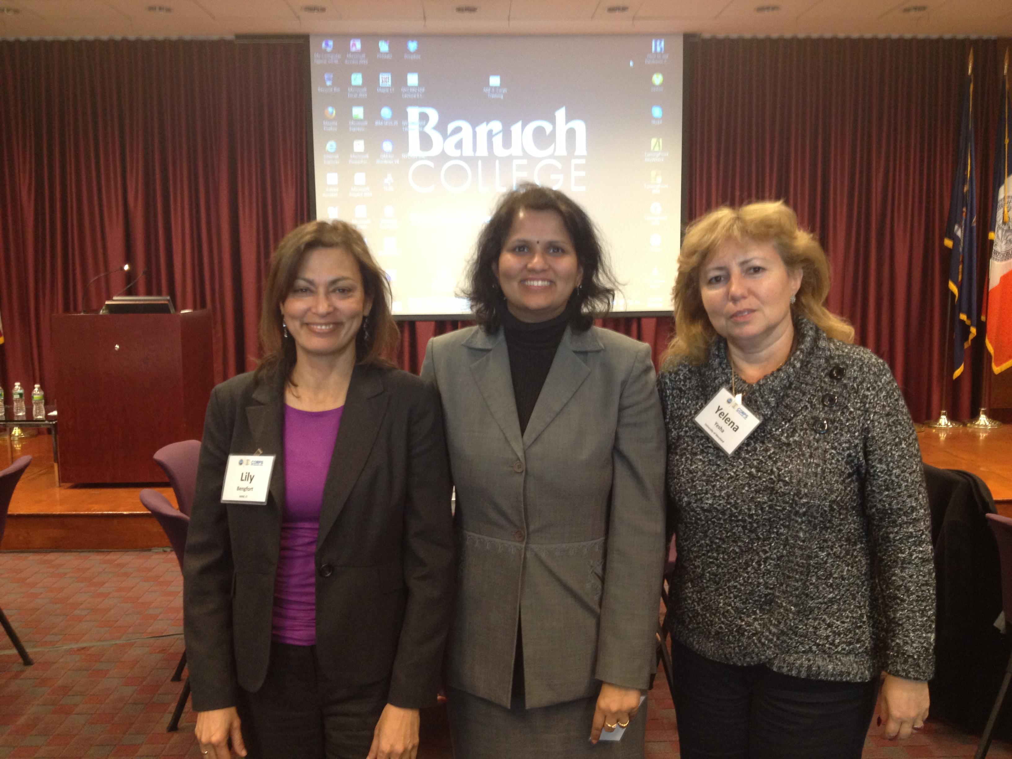 Lily Bengfort, Karuna Joshi and Yelena Yesha