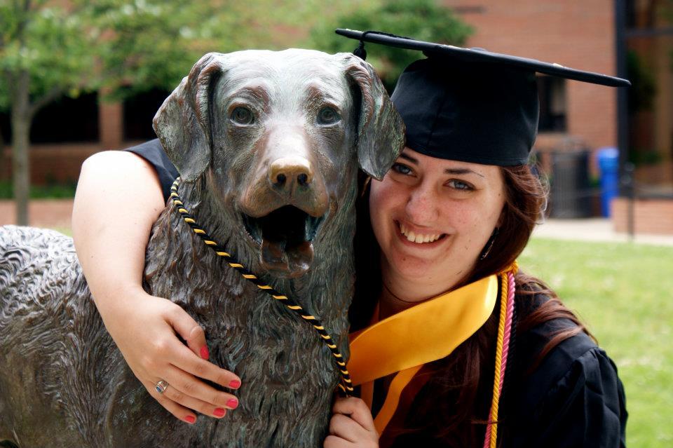Jennifer Mercer at Graduation
